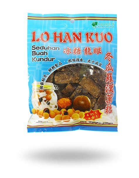 Teh Lo Han Kuo lo han kuo 230gm scs food manufacturing sdn bhd