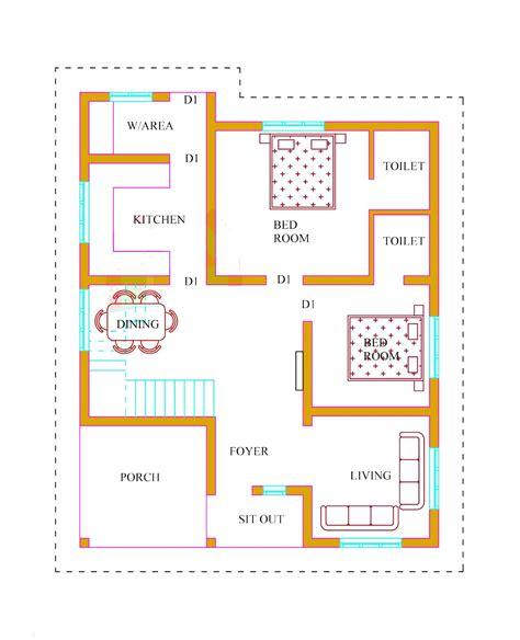 kerala house plans  estimate  lakhs  sqft