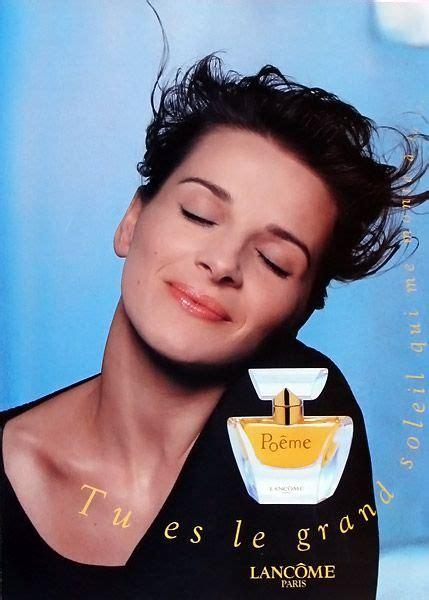 Lancomes Ambassador Juliette Binoche by Les 627 Meilleures Images Du Tableau Affiches De Parfums