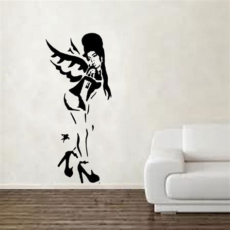 banksy wall stickers banksy vinyl wall 187 shop 187 home