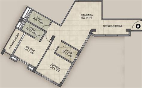 twin towers floor plans 1160 sq ft 2 bhk 2t apartment for sale in bhawani group