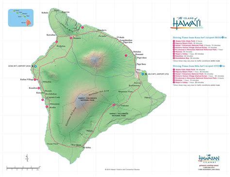 maps of hawaii hawaii big island maps geography go hawaii