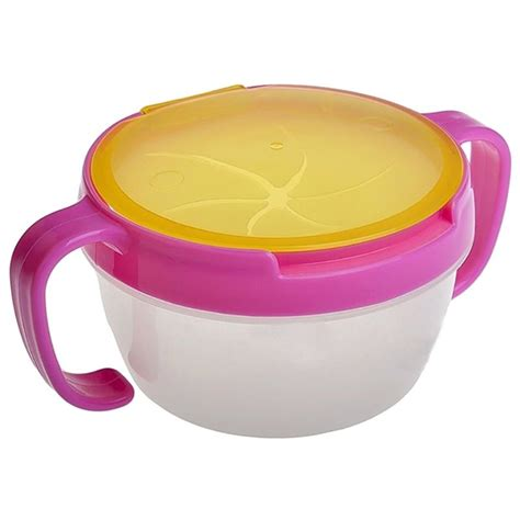 Hello Snack Bowl Baby kid 360 rotate spill proof dishes tableware baby snack bowl food container feeding children