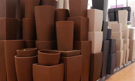 vasi alti in plastica vasi e fioriere garden vicenza verde