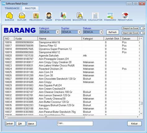 Daftar Rak Untuk Minimarket daftar kode barcode dan nama barang minimarket di indonesia indoaplikasi www indoaplikasi