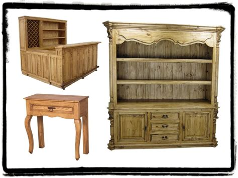 pine furniture mexican rustic furniture and home decor