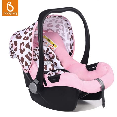 6 point harness car seat portable baby car seat 5 point harness for newborn infant