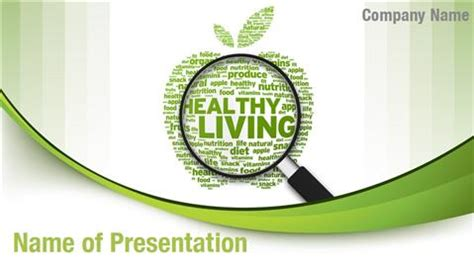 Healthy Lifestyle Powerpoint Templates Powerpoint Backgrounds For Healthy Lifestyle Templates Lifestyle Templates
