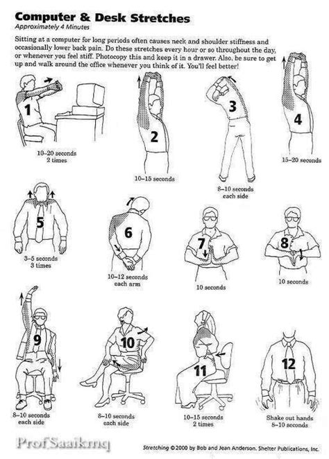 17 best images about senior exercise printable on