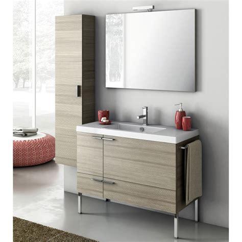 Bathroom Vanity Storage Cabinet Modern 39 Inch Bathroom Vanity Set With Storage Cabinet Glossy White Zuri Furniture