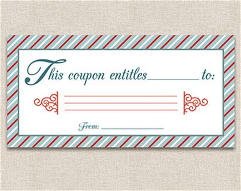 blank coupons etsy