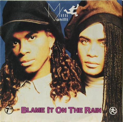 Teh Vanili milli vanilli blame it on the at discogs