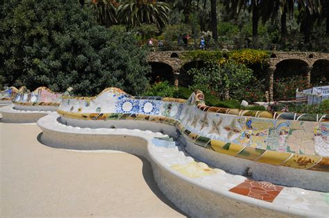 Banc Parc Guell by Park G 252 Ell 224 Barcelone