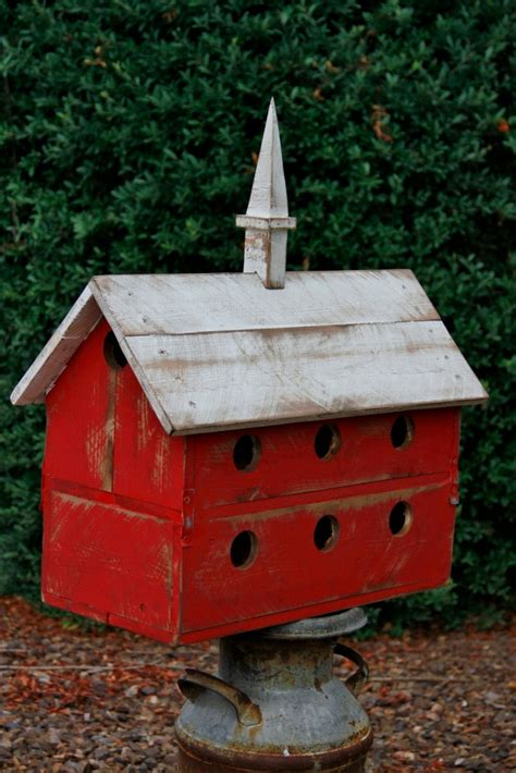 purple martin bird house large barn bird house by