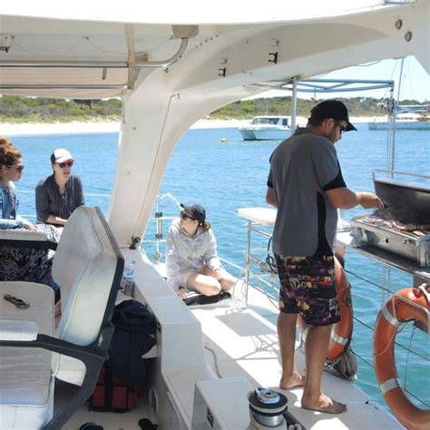 catamaran hire fremantle destination guide fremantle to carnac island on a self