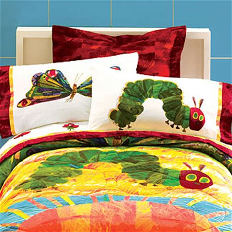 Hungry Caterpillar By Eric Carle Pillow Case Eric Carle Crib Bedding