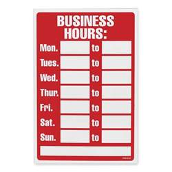 business hours template 6 best images of printable office hours sign free