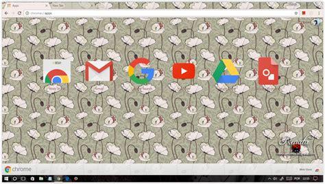 rose themes for google chrome google chrome themes