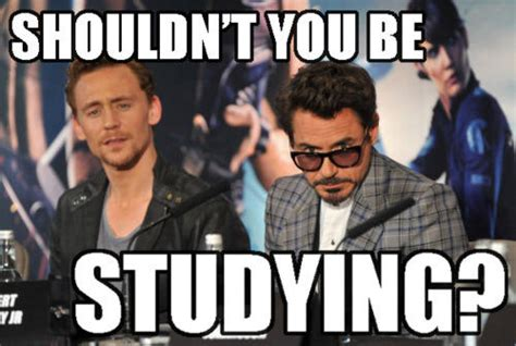 Avengers Kink Meme - the avengers want you to study you should be studying
