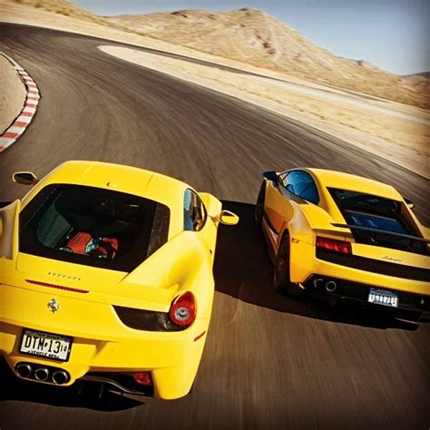 458 Italia Vs Lamborghini Gallardo 512 Best Images About Lamborghini Gallardo On