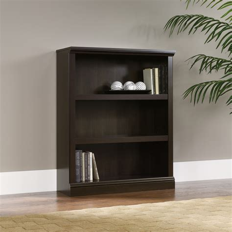 sauder 3 shelf bookcase sauder select 3 shelf bookcase 411816 sauder