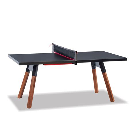 small ping pong table small outdoor ping pong table in black thos baker