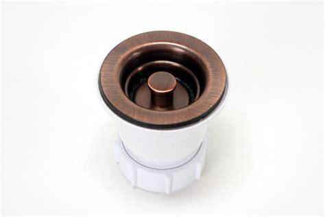 2 bar sink drain 2 quot bar sink strainer drain copper sinks