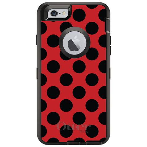 Nike Black Polkadot Iphone 6 6s Plus Cover Casing Hardcase otterbox defender for iphone 6 6s 7 plus black polka dots ebay