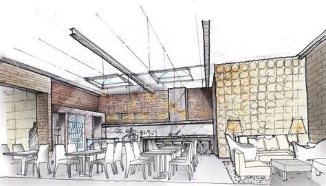 interior sketch long island city bakery by oda interior design sketches