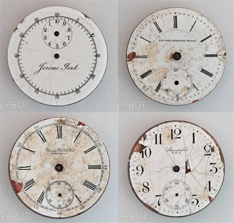 Wall Stickers South Africa scrapbooking freebie clock faces