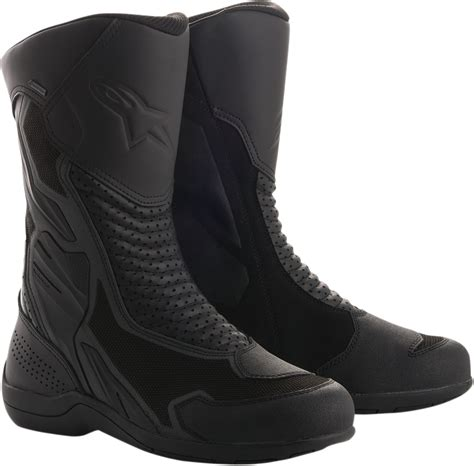 mens motorcycle racing boots mens alpinestars leather air plus gtx motorcycle riding