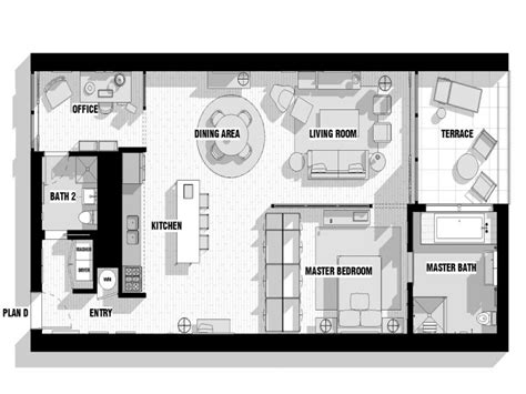 modern loft floor plans studio apartment floor plans modern loft floor plans