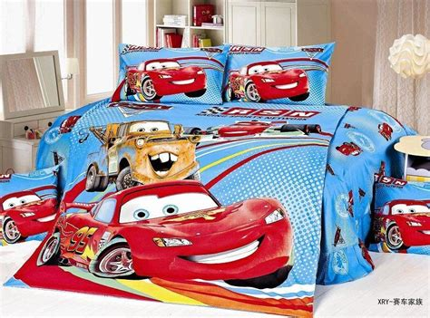 lightning mcqueen bed set new blue lightning mcqueen cars bedding sets single twin