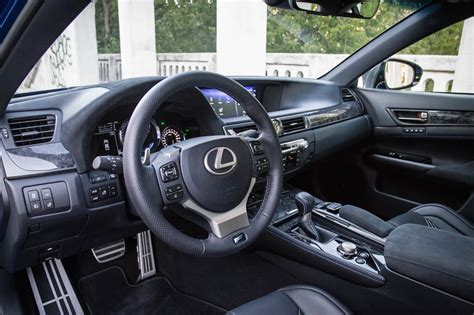 lexus car 2016 interior review 2016 lexus gs f canadian auto review