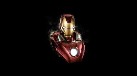 wallpaper iron man mark vii minimal
