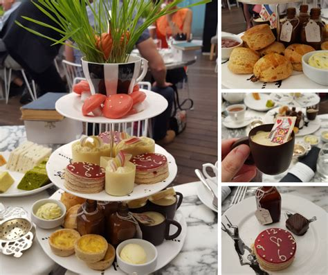 High Tea Kitchen Tea Ideas by Bloggers Mad Hatters Tea Party At Sanderson Hotel The
