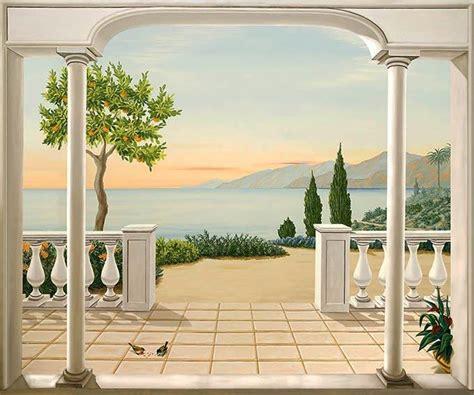 Decor Mural Panoramique by D 233 Cors Panoramiques Trompe L Oeil Domozoom