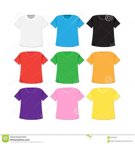 different color shirt the gallery for gt colored t shirt template