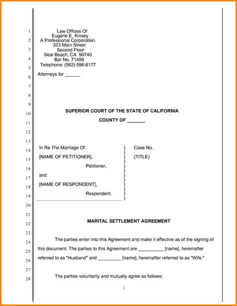 pleading template 7 pleading paper california superior court ledger paper
