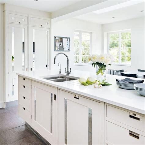 white kitchen   Kitchen Sourcebook