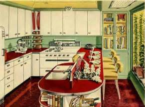 1940s Kitchen Design by Retro Kitchen Design Sets And Ideas