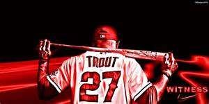 mike trout wallpaper best images collections hd for