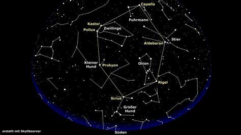 Karet Februari 2018 sterne sternbilder im februar zwei unzertrennliche