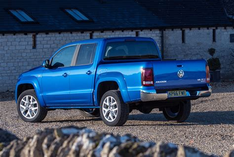 volkswagen pickup 2016 2017 vw amarok pickup rear tail the fast lane truck