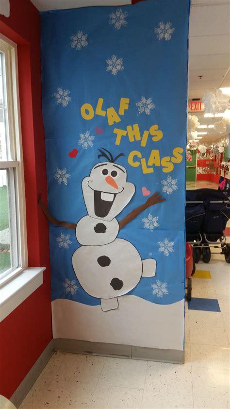 winter hallway decorations play learn abington pa quot olaf play learn quot winter hallway and door decorations