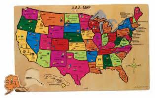 us map and puzzles u s a map wooden toys toys categories