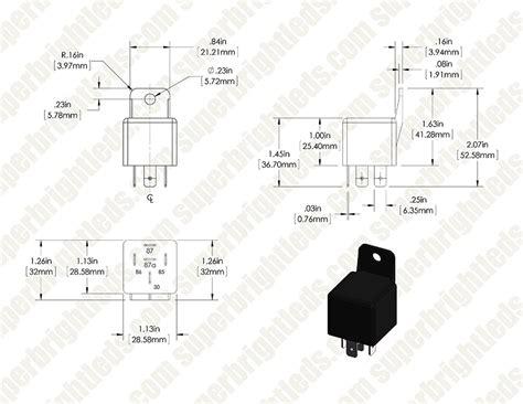 A R Relay Spdt 1 Channel 12v Jrc 21f 250vac 30vdc 3a 12vdc 30 40a relay wiring diagram wiring diagram