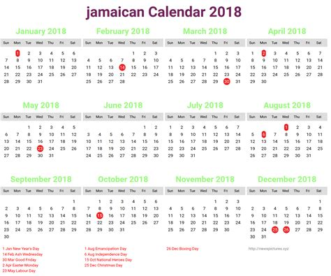 new year 2018 calendar 2018 calendar jamaica happy new year 2018 pictures