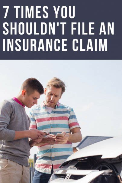 7 Times You Shouldn't File an Insurance Claim
