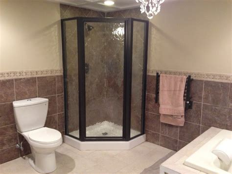 stand up shower bathroom decorating stand